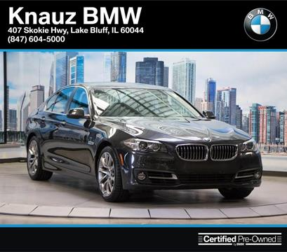 2016 BMW 5 Series for sale in Lake Bluff, IL