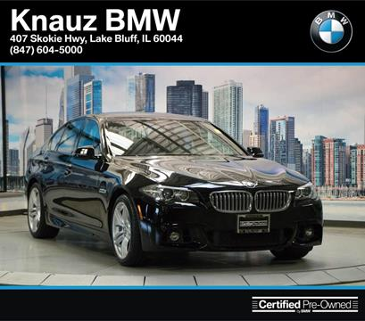 2016 BMW 5 Series for sale in Lake Bluff IL