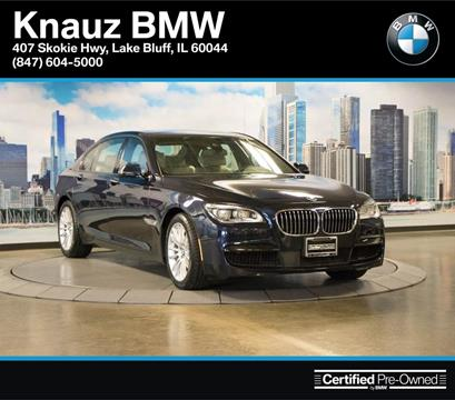 2015 BMW 7 Series for sale in Lake Bluff IL