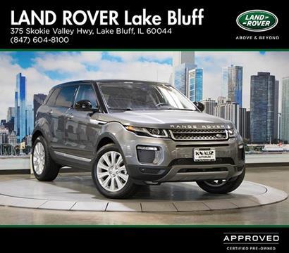 2017 Land Rover Range Rover Evoque for sale in Lake Bluff, IL
