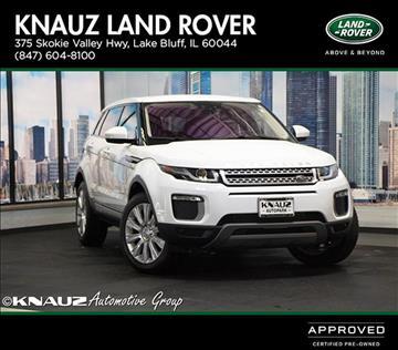 2016 Land Rover Range Rover Evoque for sale in Lake Bluff, IL