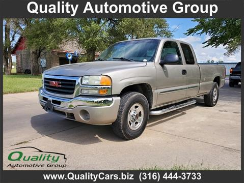 2003 GMC Sierra 1500 for sale in Wichita, KS