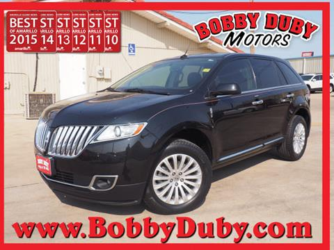 2013 Lincoln MKX for sale in Amarillo, TX