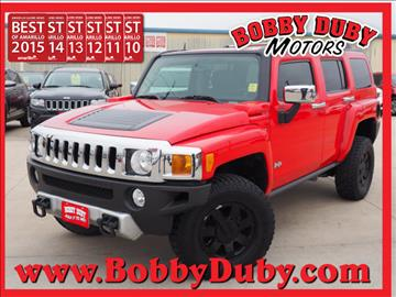 2008 HUMMER H3 for sale in Amarillo, TX