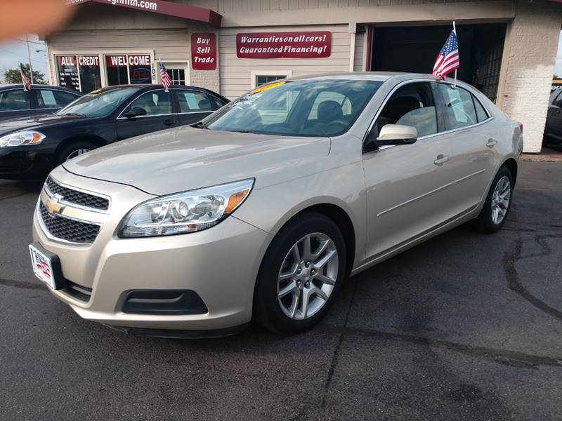 2013 Chevrolet Malibu LT 4dr Sedan W/1LT   Griffith IN
