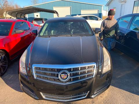2013 Cadillac ATS for sale at BEST AUTO SALES in Russellville AR