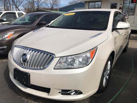 2012 Buick LaCrosse for sale at BEST AUTO SALES in Russellville AR