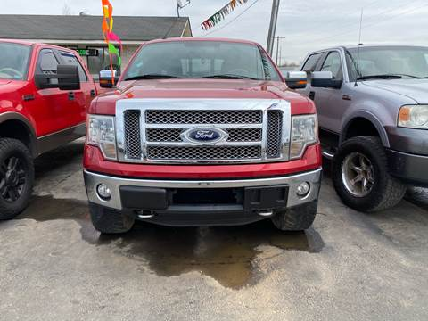2011 Ford F-150 for sale at BEST AUTO SALES in Russellville AR