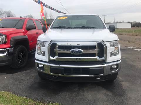 2015 Ford F-150 for sale at BEST AUTO SALES in Russellville AR