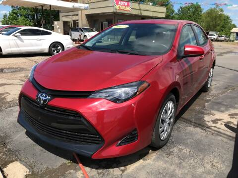2017 Toyota Corolla for sale at BEST AUTO SALES in Russellville AR
