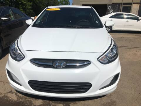 2017 Hyundai Accent for sale at BEST AUTO SALES in Russellville AR