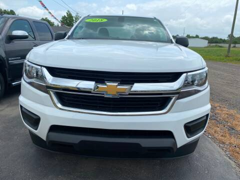 2018 Chevrolet Colorado for sale at BEST AUTO SALES in Russellville AR