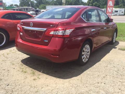 2013 Nissan Sentra for sale at BEST AUTO SALES in Russellville AR