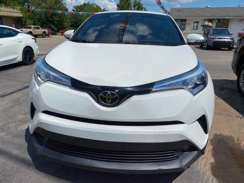 2018 Toyota C-HR for sale at BEST AUTO SALES in Russellville AR