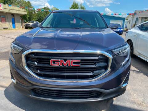 2018 GMC Terrain for sale at BEST AUTO SALES in Russellville AR