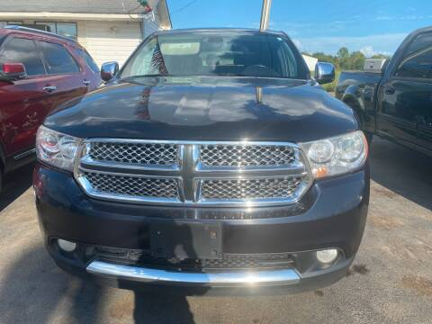 2011 Dodge Durango for sale at BEST AUTO SALES in Russellville AR