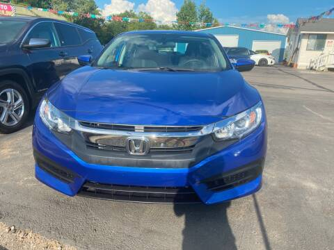 2016 Honda Civic for sale at BEST AUTO SALES in Russellville AR