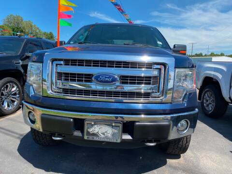 2013 Ford F-150 for sale at BEST AUTO SALES in Russellville AR