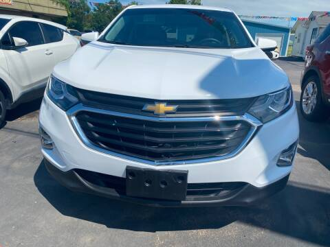 2018 Chevrolet Equinox for sale at BEST AUTO SALES in Russellville AR