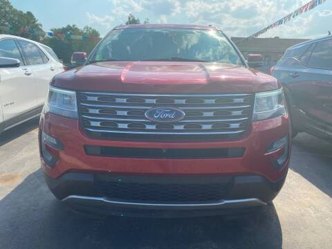 2016 Ford Explorer for sale at BEST AUTO SALES in Russellville AR