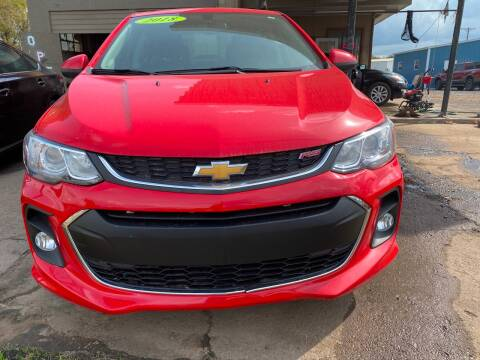 2018 Chevrolet Sonic for sale at BEST AUTO SALES in Russellville AR