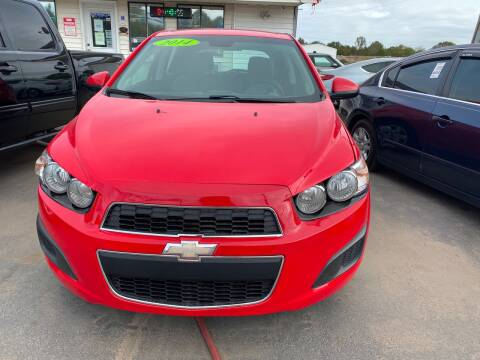 2014 Chevrolet Sonic for sale at BEST AUTO SALES in Russellville AR