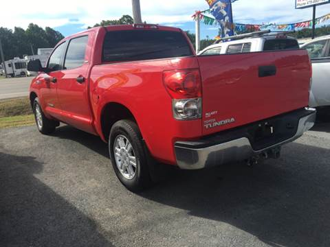 2007 Toyota Tundra for sale at BEST AUTO SALES in Russellville AR