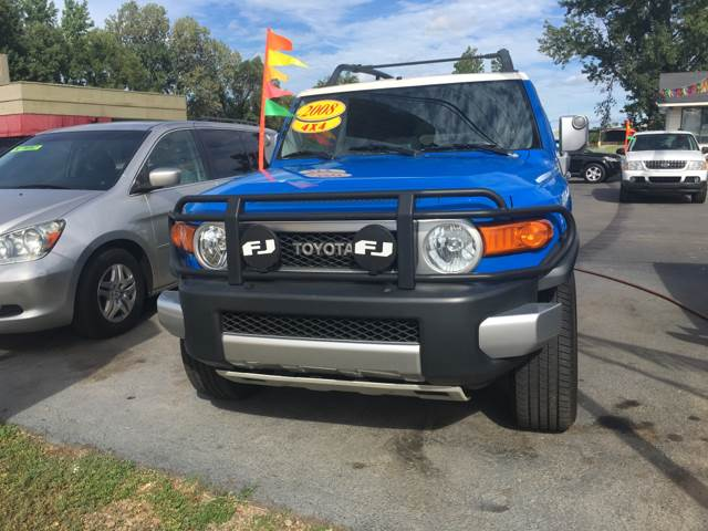 2008 Toyota FJ Cruiser for sale at BEST AUTO SALES in Russellville AR