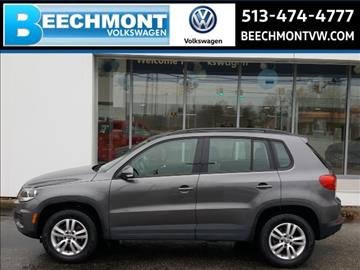 2015 Volkswagen Tiguan for sale in Cincinnati, OH