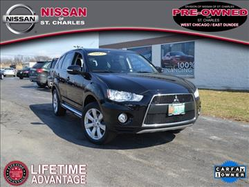 2012 Mitsubishi Outlander for sale in St Charles, IL