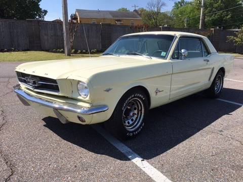 65 Mustang For Sale >> 1965 Ford Mustang For Sale In Memphis Tn Carsforsale Com