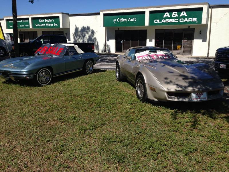 1982 Chevrolet Corvette for sale at A & A Classic Cars in Pinellas Park FL