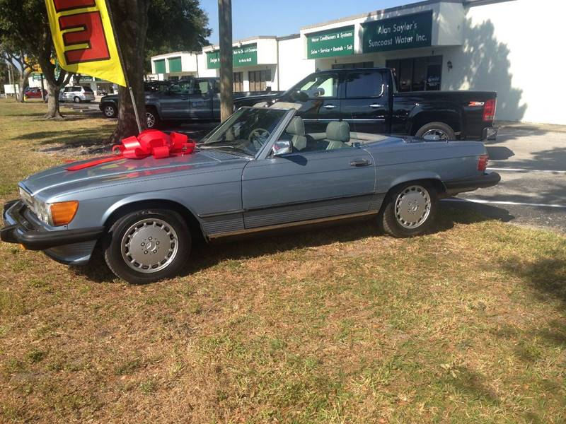1988 Mercedes-Benz 560-Class for sale at A & A Classic Cars in Pinellas Park FL