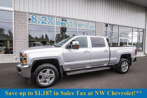 2015 Chevrolet Silverado 2500HD for sale in Mckenna, WA
