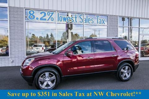 2010 GMC Acadia for sale in Mckenna, WA