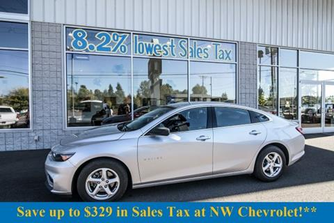 2016 Chevrolet Malibu for sale in Mckenna, WA