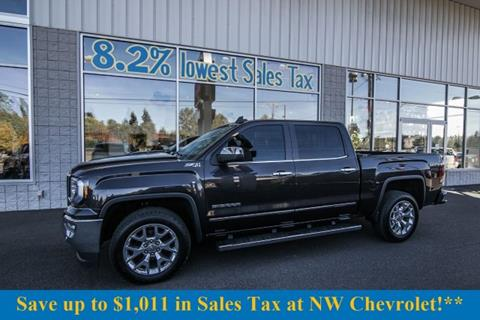 2016 GMC Sierra 1500 for sale in Mckenna, WA