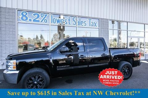 2012 Chevrolet Silverado 1500 for sale in Mckenna, WA