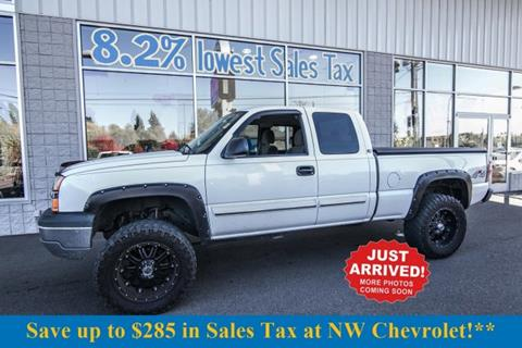 2005 Chevrolet Silverado 1500 for sale in Mckenna, WA