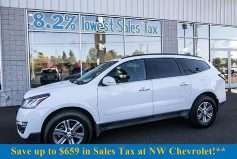 2016 Chevrolet Traverse for sale in Mckenna, WA
