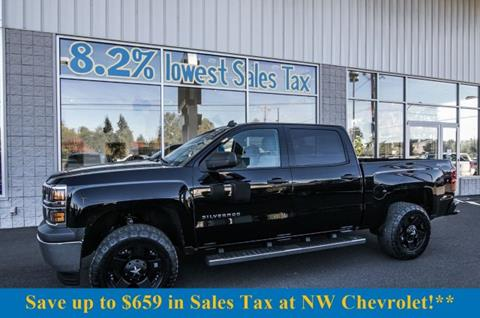 2014 Chevrolet Silverado 1500 for sale in Mckenna, WA