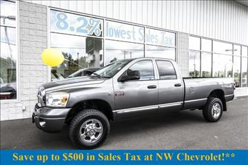 2007 Dodge Ram Pickup 3500 for sale in Mckenna, WA