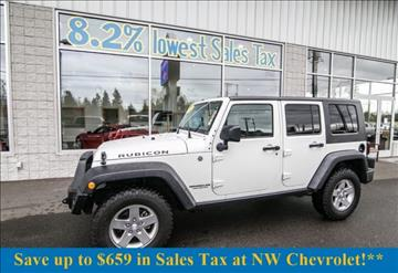 2010 Jeep Wrangler Unlimited for sale in Mckenna, WA