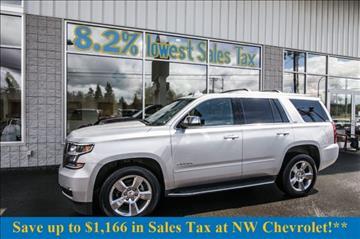 2016 Chevrolet Tahoe for sale in Mckenna, WA