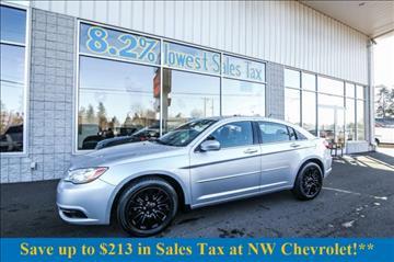 2012 Chrysler 200 for sale in Mckenna, WA