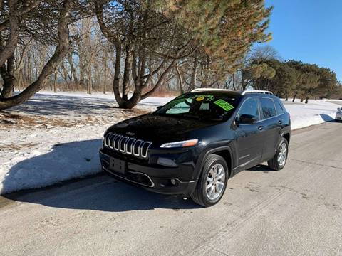 2015 Jeep Cherokee Limited for sale at Aleid Auto Sales in Cudahy WI