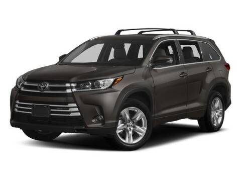 2017 Toyota Highlander Limited Platinum for sale at HILAND TOYOTA in Moline IL