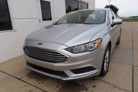 2017 Ford Fusion for sale at HILAND TOYOTA in Moline IL