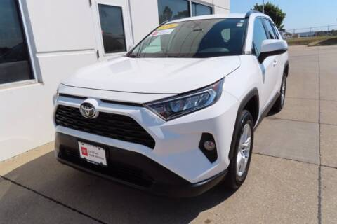 2020 Toyota RAV4 for sale at HILAND TOYOTA in Moline IL