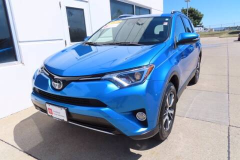2017 Toyota RAV4 for sale at HILAND TOYOTA in Moline IL